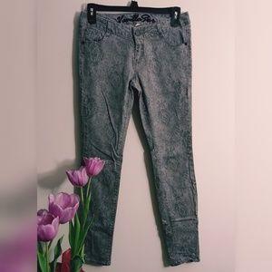 Vanilla Star Patterned Skinny Jeans